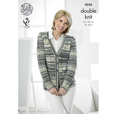 Cabled Cardigan and Vest