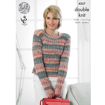 Cabled Cardigan and Pullover