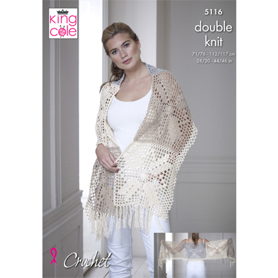 Top and Shawl (Crochet)