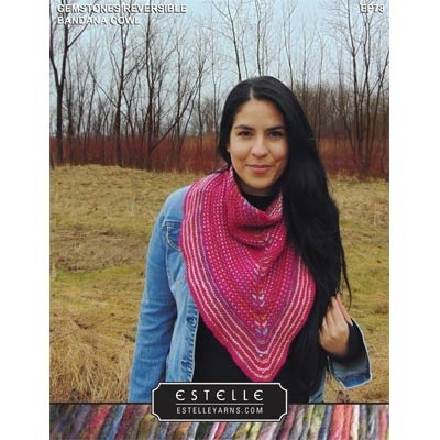 Gemstones Reversible Banada Cowl (with Lumier