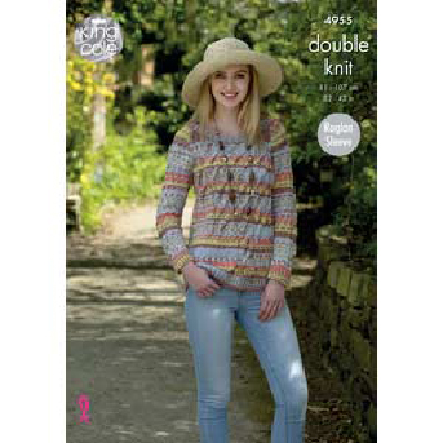 Cabled Pullover and Short Sleeve Top